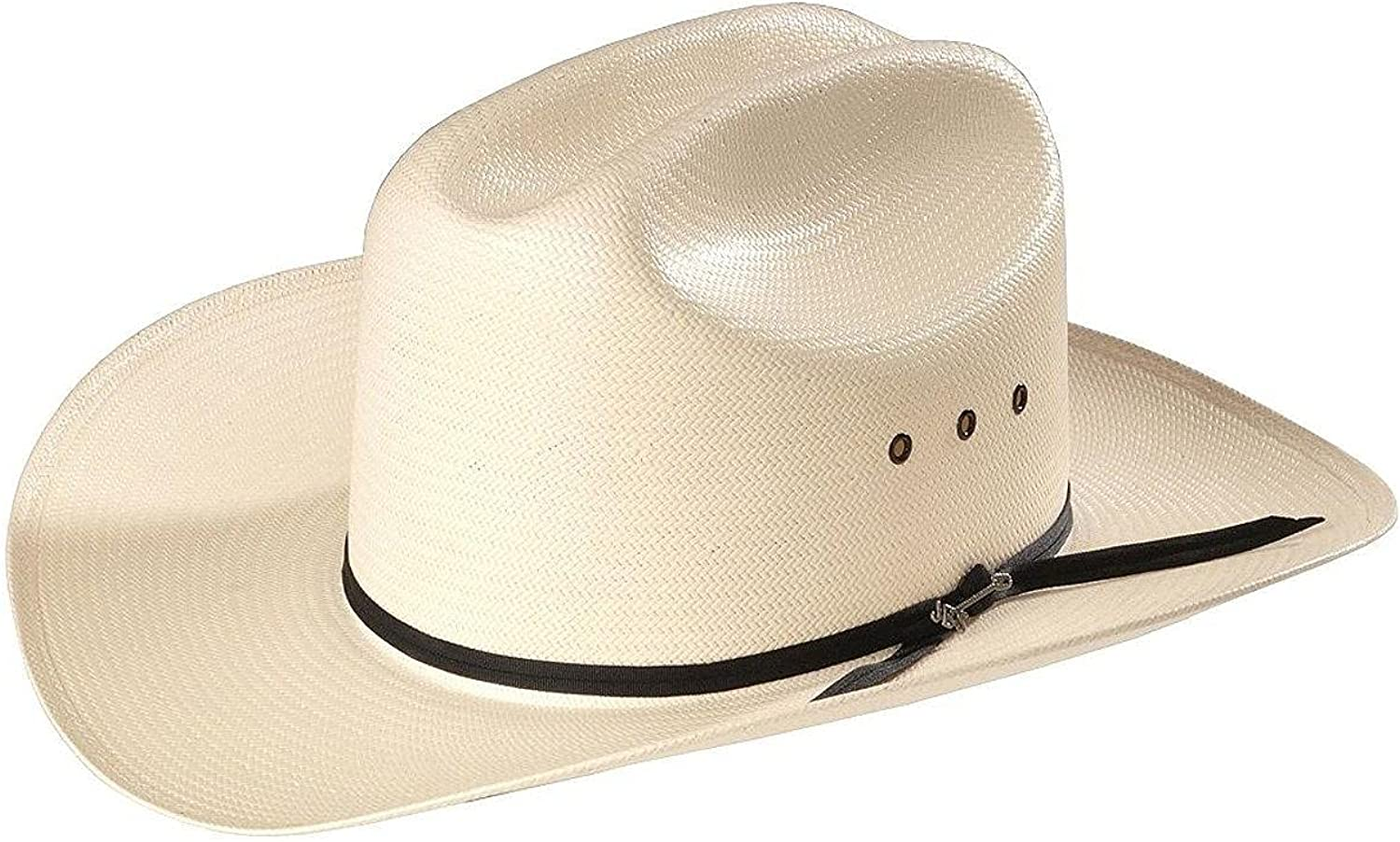 Stetson Straw Rancher Cowboy Hat Selling rankings 2 1 Manufacturer OFFicial shop Brim 3 Inch