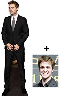 *FAN PACK* - Robert Pattinson LIFESIZE CARDBOARD CUTOUT (STANDEE / STANDUP) - INCLUDES 8X10 (25X20CM) STAR PHOTO - FAN PACK #265