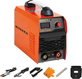 SUNGOLDPOWER ARC MMA 200A Welder Dual 110V 220V IGBT Hot Start Welding Machine DC..