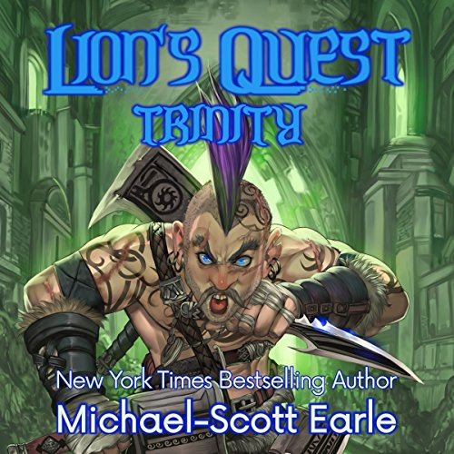 Lion's Quest: Trinity audiobook cover art