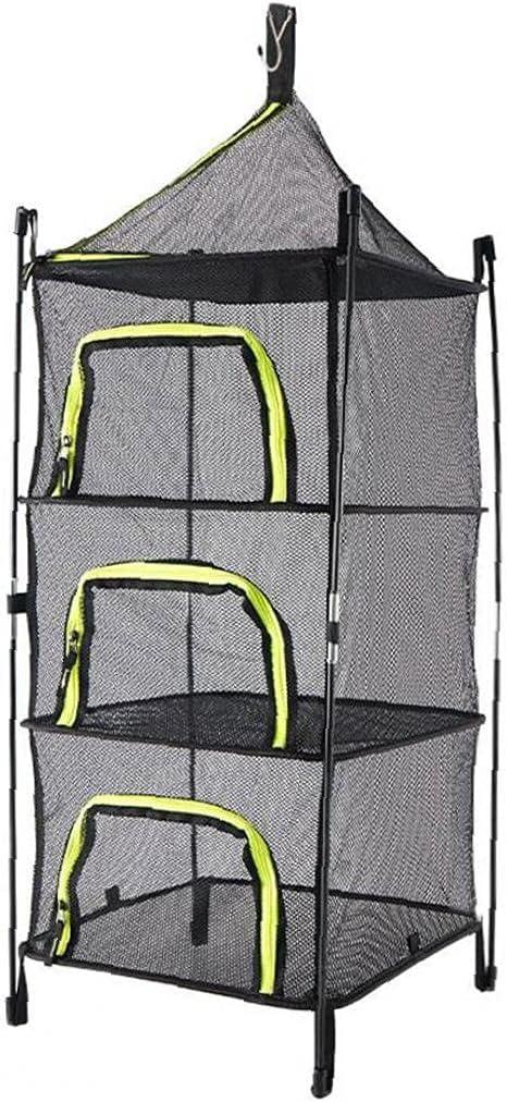 Hainice Outdoor Drying Net 4-Layer Basket Storage Finally popular brand Atlanta Mall Po Folding