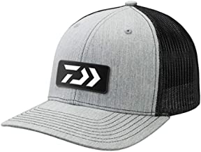 Daiwa DVEC-E-GRYBLK D-Vec Trucker with Embroidered Grey and Black Logo