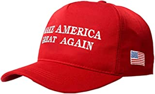 MAGA Hat Make America Great Again Donald Trump Slogan with USA Flag Cap Adjustable Baseball Hat All Cotton Made Unisex