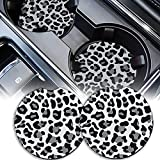 Car Coasters for Drinks Absorbent, Cute Car...