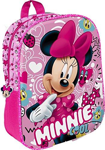 Star Licensing Disney Minnie Zainetto per Bambini, 32 cm, Multicolore