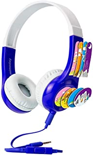 Mimoday Kids Headphones(2019 Upgraded) with 85dB Volume Limited Hearing Protection Durable, Comfortable & in Line Mic, Kids Friendly Safe Food Grade Material