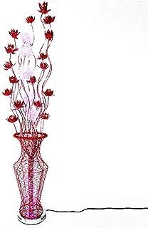 LHFHA Lampadaire Upright Lights Lampe de Table, Lampadaires Led Modernes, Pour Salle À Manger Salon Chambre Lampe de Cheve...