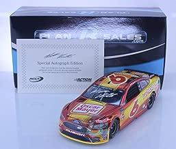 Lionel Racing Matt Kenseth Autographed 2018 Oscar Mayer 1:24 Color Chrome