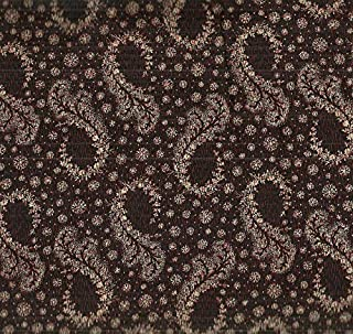 Baltimore Classic Judie Rothermel Marcus 1800s Reproduction Brown Paisley Fabric