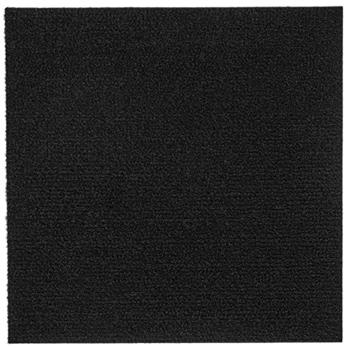 Peel and Stick 12x12 Self Adhesive Carpet Tiles Do It Yourself (DIY) Ribbed Carpet Floor Tiles...