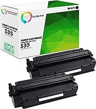 TCT Premium Compatible Toner Cartridge Replacement for Canon S35 7833A001AA Black Works with Canon ImageClass D300 D320 D340 D360, MF3240, PC-D320 D340 Printers (3,500 Pages) - 2 Pack