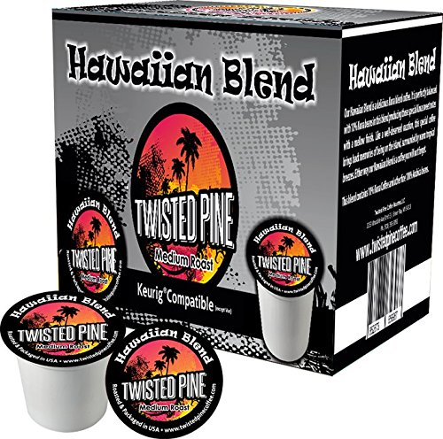 Twisted Pine Hawiian Kona Blend Single Serve for K Cup Brewer - 40ct