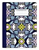 Vera Bradley Composition Notebook, College Ruled Paper, 9.75' x 7.5' with 200 Lined Pages, Plaza Medallion Pink