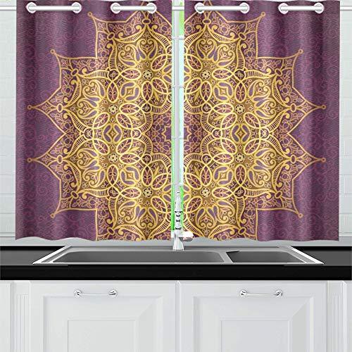 cortinas cocina estilo oriental