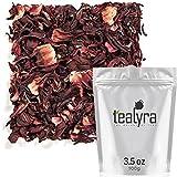 Tealyra - Pure Hibiscus Herbal Tea - Loose Leaf Tea - Organically...