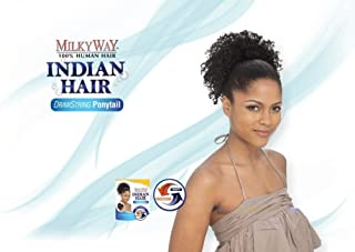 MILKY WAY 100% Human Hair Ponytail - INDIAN JERRY PONY 8