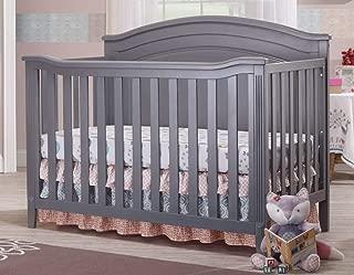 Sorelle Brittany Panel Crib, Grey
