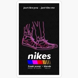 WillettaStore Frank Ocean - nikes Stickers (3 Pcs/Pack)