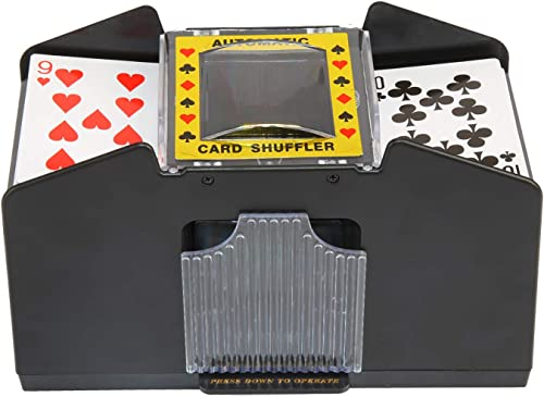 high quality BENBOR Automatic discount Poker Card Shuffler, 4/6 Decks Poker Shuffles Card Shuffler Machine, Battery Operated Electric Card sale Shuffler for Home Card Games, Poker, Rummy, Blackjack outlet sale