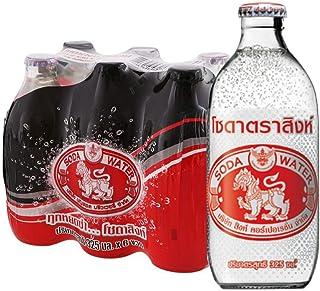 Singha Soda Water, 325 ml (Pack of 24)