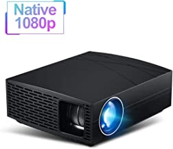 Native 1080P HD Video Beam, 800 ANSI [5,000 LUX] Lumen with Max 280