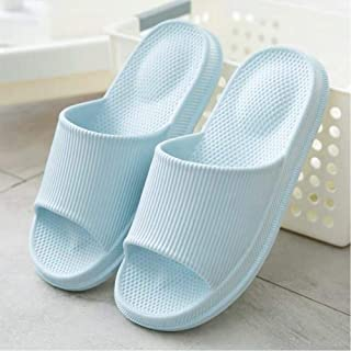 Bath Slippers Men'S Summer Soft Bottom Home Shoes Particles Couple Slippers Indoor Sandals Non-Slip Thick Bottom Unisex Slippers