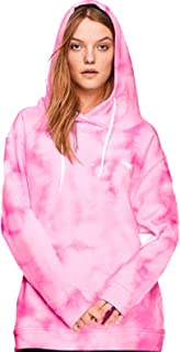 Victoria's Secret Pink Hoodie Campus Crossover Tunic Sweatshirt XSmall
