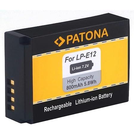 Chilipower Lp E12 Akku Für Canon Eos M Eos 100d Eos Kamera