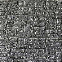 3D壁紙ウォールステッカー、70×70cm PEフォームレンガDIY石エンボスレンガ自己接着ウォールステッカーセラミックタイル壁パネルデカール寝室用キッチンリビングルームバスルームの装飾,10pcs,A