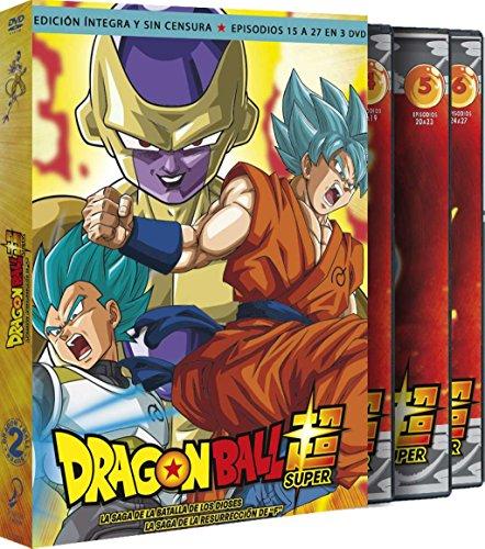 Dragon Ball Super. Box 2. La Saga De La Resurrección De F. Episodios 15 A 27 [DVD]