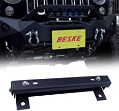 Best jeep tj front license plate bracket Reviews