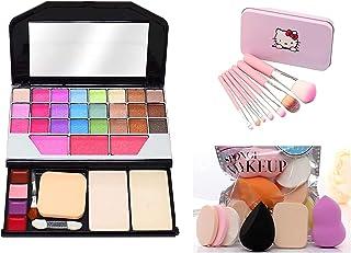 TYA GEN-II 6155 Color Icon Makeup Kit For Girls + 7 Pcs Makeup Brush Set + ProTya Beauty Blender Puff