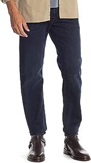 Diesel Men's Larkee Beex Regular Tapered Leg Jeans Blue Denim Wash 0857Z
