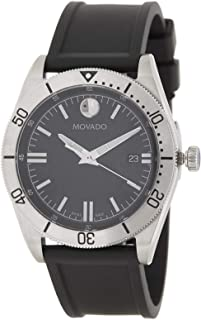 Movado Quartz Black Dial Men's Watch 0607434