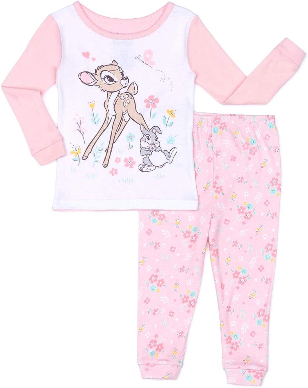 Bambi & Thumper Baby Girl Microfleece Blanket Sleeper Pajamas