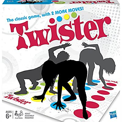 Twister Game, Party Game, Classic Board Game for 2 or More Players, Indoor and Outdoor Game for Kids 6 and Up