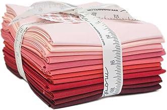 Bella Solids Reds 12 Fat Quarters Moda Fabrics 9900AB 122