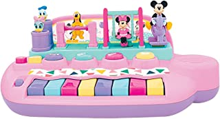 Kiddieland Toys Limited Minnie Mouse & Friends Activity Piano Baby Infant Toy, 4.88 X 11.25 X 7.5, Yes