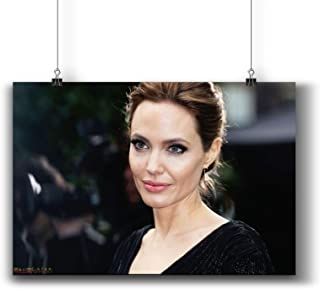 Angelina Jolie Actress Movie Photo Poster Prints 405-002,Wall Art Decor for Dorm Bedroom Living Room (A3 11x17inch 29x42cm)