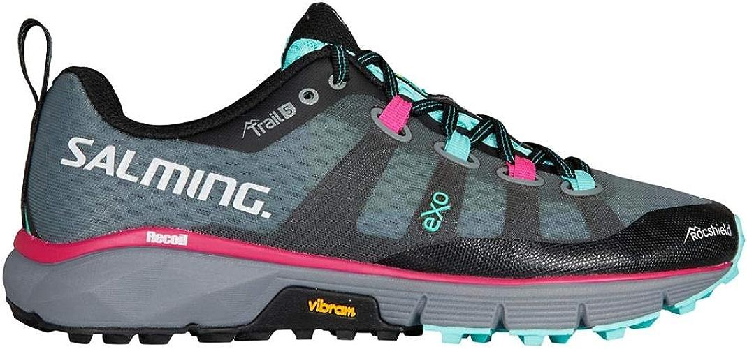 Salming Trail 5 chaussures femmes gris noir