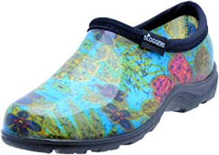 Sloggers Women's Waterproof Rain and Garden Shoe with Comfort Insole, Midsummer Blue, Size 7, Style 5102BL07