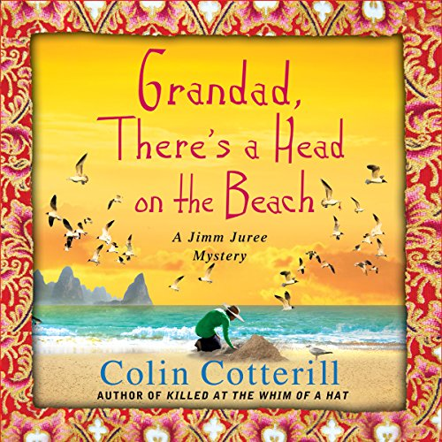 Grandad, There's a Head on the Beach audiobook cover art