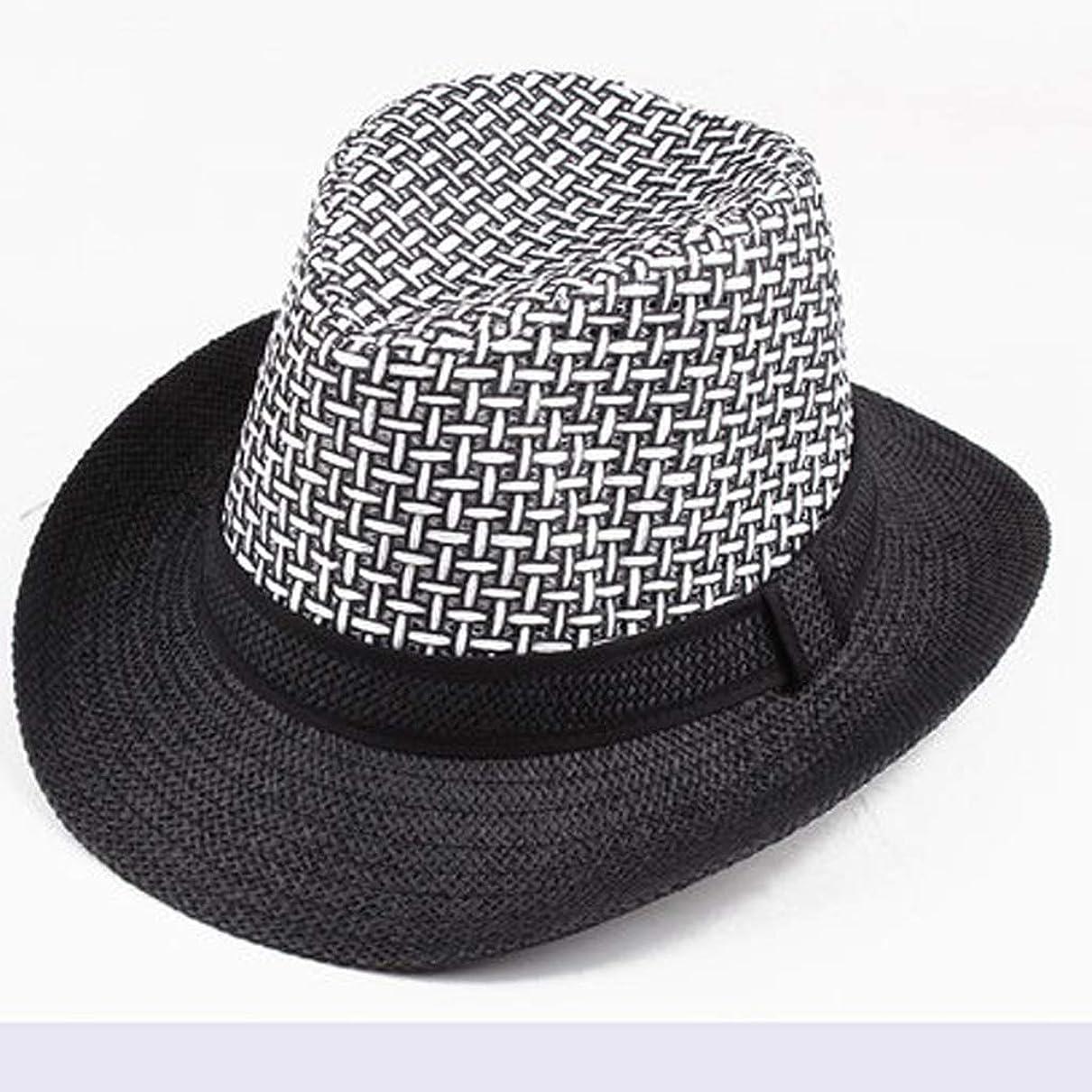 自動化努力かわすZFDM クールハット、麦わら帽子、通気性の太陽の帽子、男性の帽子、ライト、折りたたみ、旅行 (Color : 3)