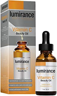 Vitamin C Oil for Face, Anti-Aging for All Skin Types by Lumirance Moisturizes for smooth, firm and brighter skin, 1oz bot...