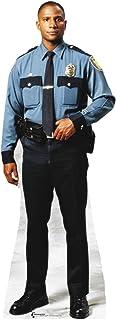 Personas de cartón policía tamaño natural cartón recorte Standup