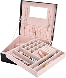 VORCOOL Pr/ésentoir de Bijoux Collier Boucles doreilles Support de Rangement pour Bracelet Support Suspendu pour Collier de Boucles doreilles