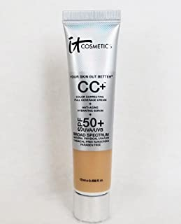 It Cosmetics Your Skin But Better CC Cream with SPF 50+ Travel Size Light 0.406oz