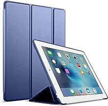 iPad 2/3/4 Case,GOOJODOQ Smart Cover with Magnetic Auto Sleep/Wake Function PU Leather Shockproof Silicon Soft TPU Folio Case for Apple iPad 2/3/4 (for iPad 2/3/4, Dark Blue)