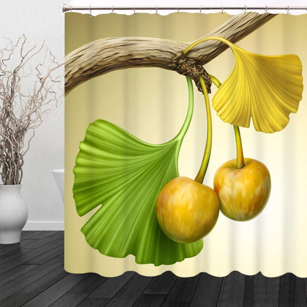 DCPPCPD Psychedelic 3D Printed Polyester Curtain,Yellow Shower Max 87% OFF Max 42% OFF