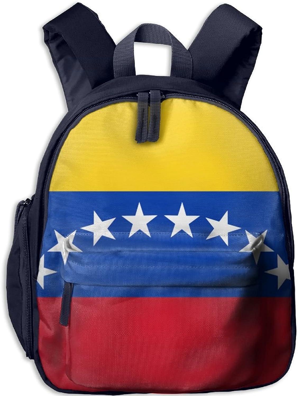 Pinta Venezuelan Flag Cub Cool School Book Bag Backpacks for Girl's Boy's